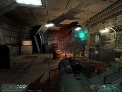 Doom3 2 - Xbox Review, Doom 3