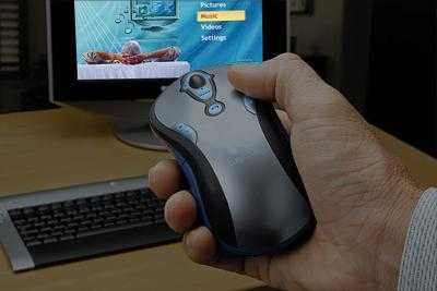 ridimensionamtalop - Logitech Media Play Cordless Mouse