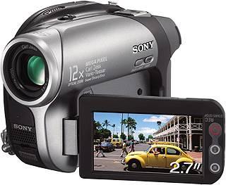 sonydvdcam - Test Sony DCRDVD202E