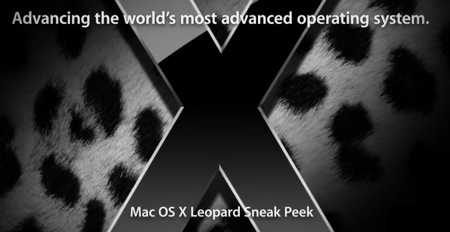 Leopard - Mac OSX Leopard solo ad ottobre