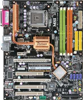 MSIp6Nplatinum - MSI P6N Diamond, una nuova generazione di motherboard