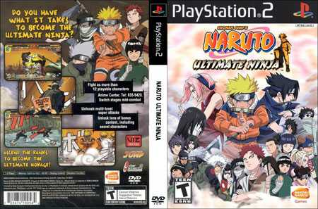 NarutoUltimateNinja12 - PS2 Review, Naruto Ultimate Ninja