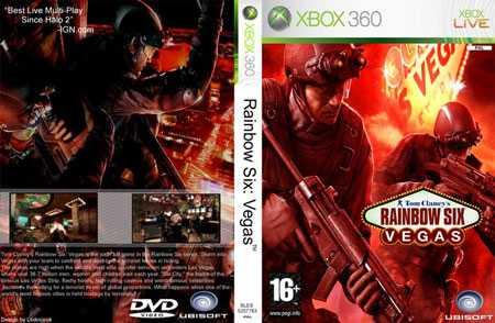RainbowSixVegascover - Xbox 360 Review, Rainbow Six Vegas