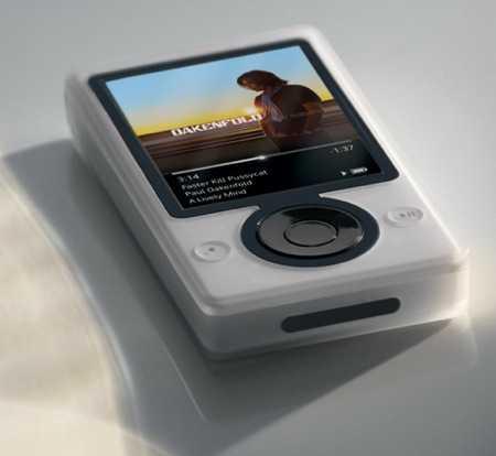 ZuneWhite 72dpi forWeb - Sandisk Sansa e Yahoo tentano di recuperare il gap con iPod