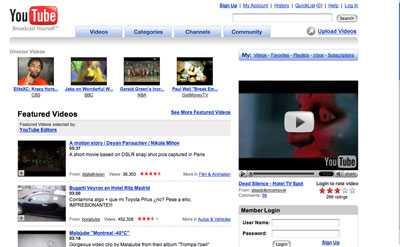 Youtubeimgscreen - Viacom mette in dubbio l'esistenza di Internet, parola di Google