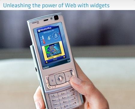 nokiawidget3 - I Widget sbarcano sui cellulari Nokia