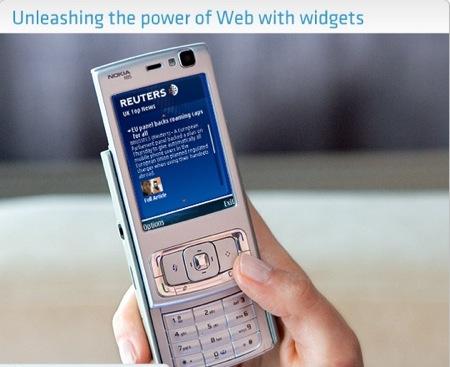 nokiawidget4 - I Widget sbarcano sui cellulari Nokia