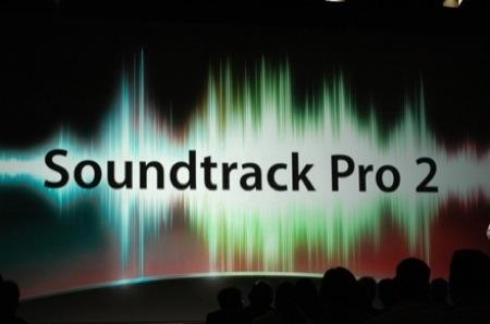 soundtrackpro2 - Apple presenta il nuovo software professionale e una novita' hardware al NAB di Las Vegas