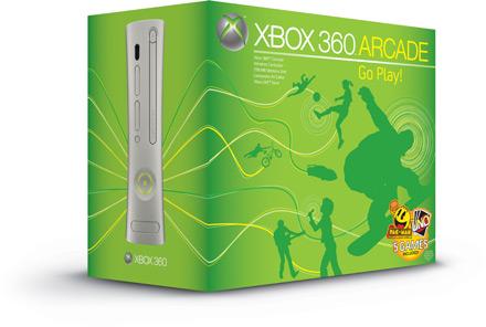 xbox 360 arcade box top - Taglio di prezzo per Xbox 360: la Arcade a soli 199 euro