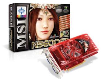 n9600gtmsi2122008 - La nuova serie MSI N9600GT, per un gioco in SLI davvero performante