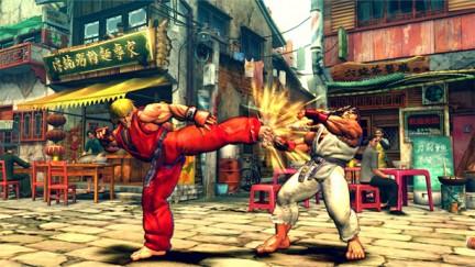 sf401 - Street Fighters IV : ancora immagini e novità