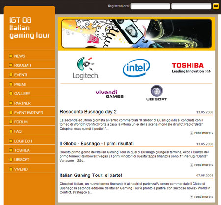 """homeitaliangamingtour160520 - La terza tappa dell'Italian Gaming Tour approda al centro commerciale """"Le Gru"""" di Torino"""