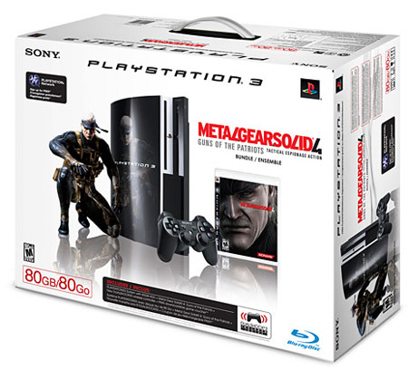 mgs4bundle752008 - Presto disponibile anche in Europa il bundle PS3 con Metal Gear Solid 4: Guns of the Patriots