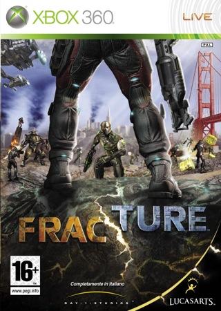 FRACTURE 360 PACKSHOT IT - Fracture per Xbox 360 e PS3 nei negozi questa settimana