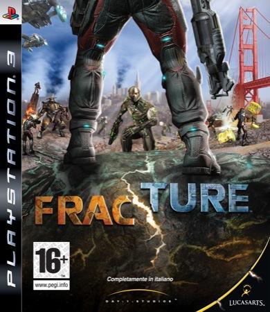 FRACTURE PS3 PACKSHOT IT - Fracture per Xbox 360 e PS3 nei negozi questa settimana