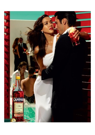03 CampariCalendar2009 MARCH - Jessica Alba protagonista a Milano del nuovo Calendario Campari