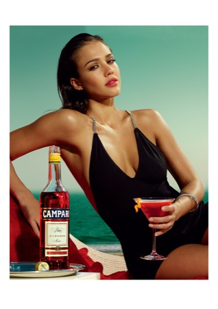 CampariCalendar2009 APRIL  - Jessica Alba protagonista a Milano del nuovo Calendario Campari