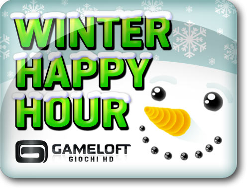 winter happy hour 500x380 - Promozione Winter Happy Hour, Gameloft annuncia giochi gratis e a 1 euro per Android HD