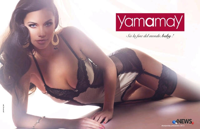 yamamay tiffany keller sei la fine del mondo baby - Yamamay, una campagna pubblicitaria da fine del mondo
