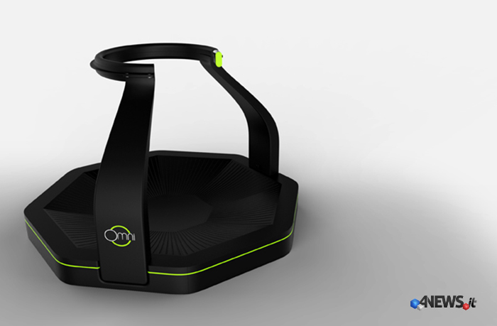 Omni-VR-Treadmill-press