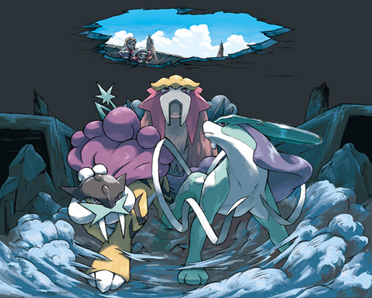 Entei Raikou Suicune - Guida Pokémon Rubino Omega/Zaffiro Alpha, i leggendari