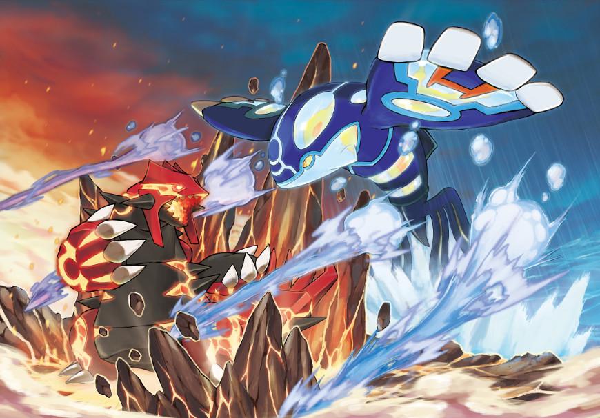 GrouKyo4news - Guida Pokémon Rubino Omega/Zaffiro Alpha, i leggendari
