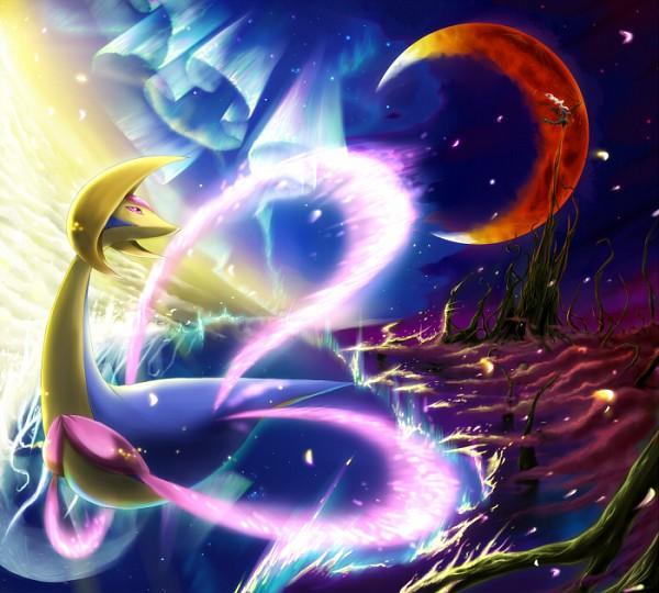 cresselia - Guida Pokémon Rubino Omega/Zaffiro Alpha, i leggendari