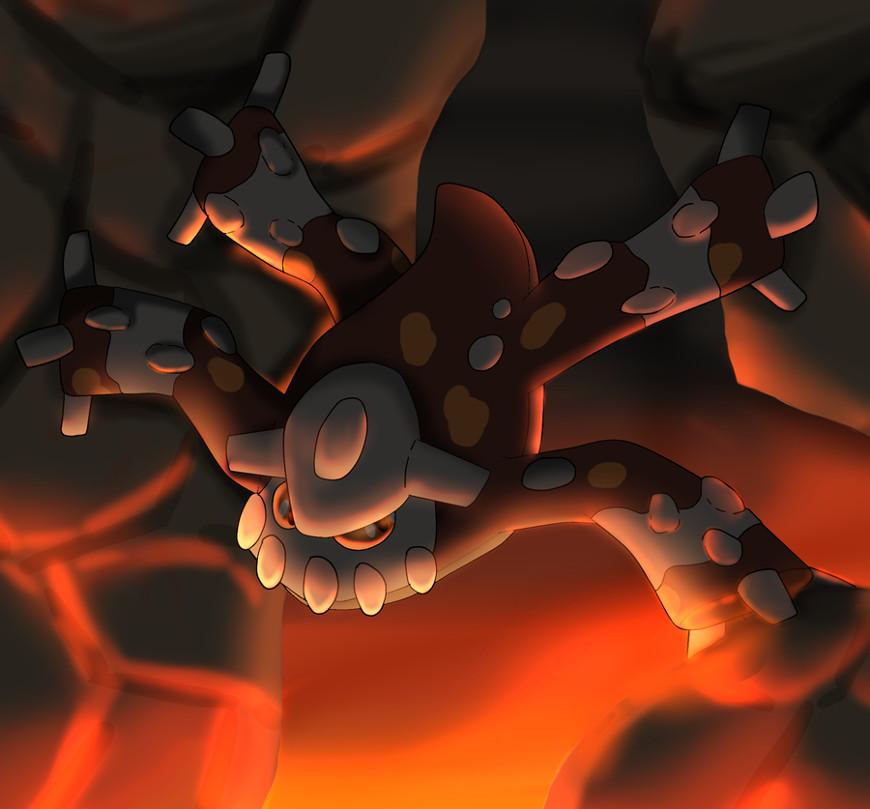 heatran by rachelmorr d5rg4w4 - Guida Pokémon Rubino Omega/Zaffiro Alpha, i leggendari