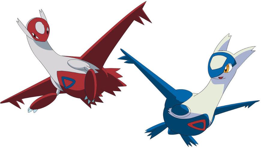 latios latias - Guida Pokémon Rubino Omega/Zaffiro Alpha, i leggendari