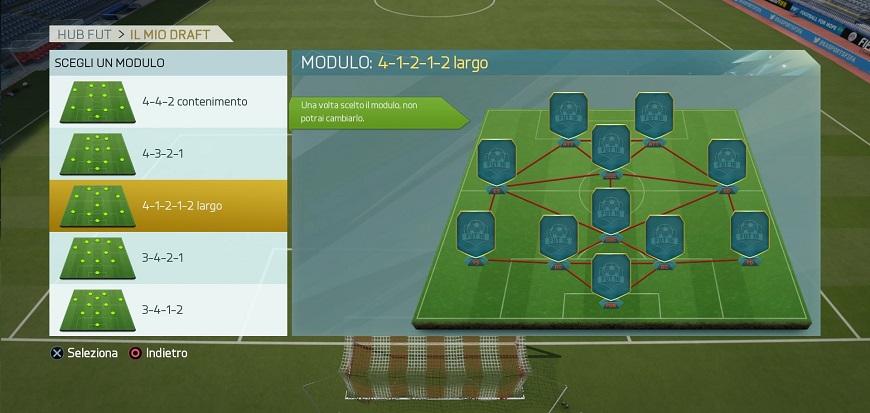FIFA 16 Draft FUT nei menu 3