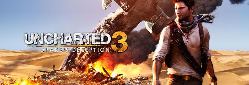 uncharted3banner - Uncharted - The Nathan Drake Collection - Guida ai tesori