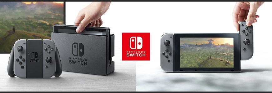 nintendo switch ext3 - Ecco il primo video unboxing di Nintendo Switch