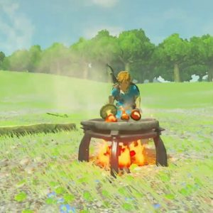 Zelda Cooking 300x300 - Recensione The Legend of Zelda: Breath of the Wild
