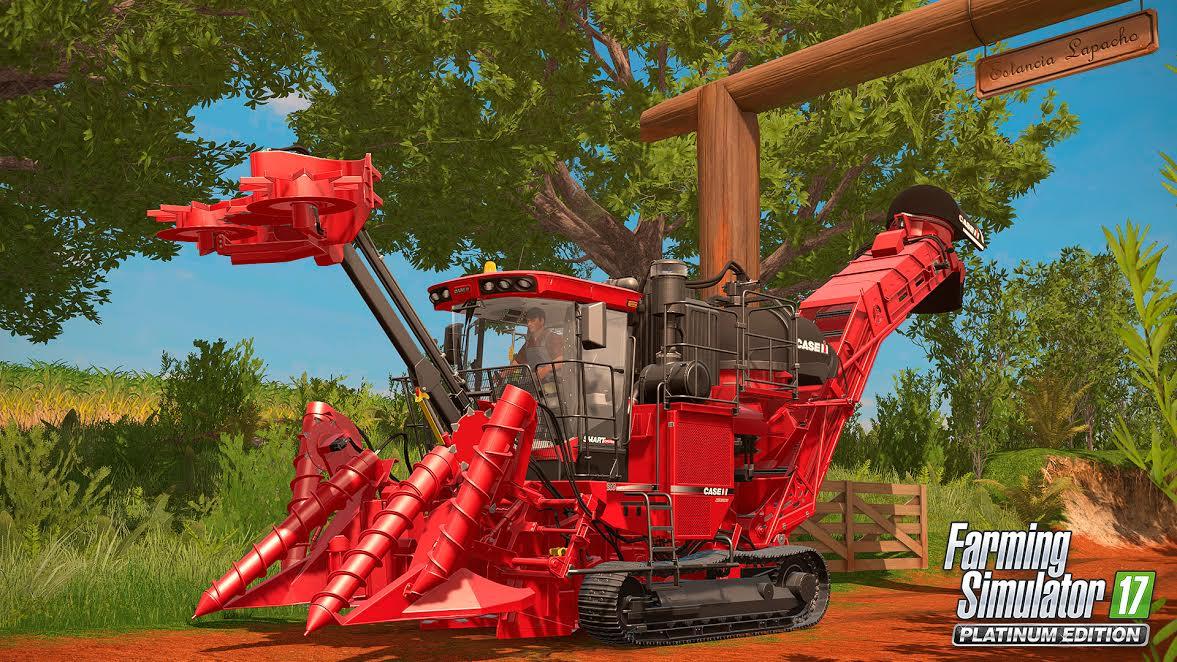 Farming Simulator 1 - Annunciato Farming Simulator 17 Platinum Edition