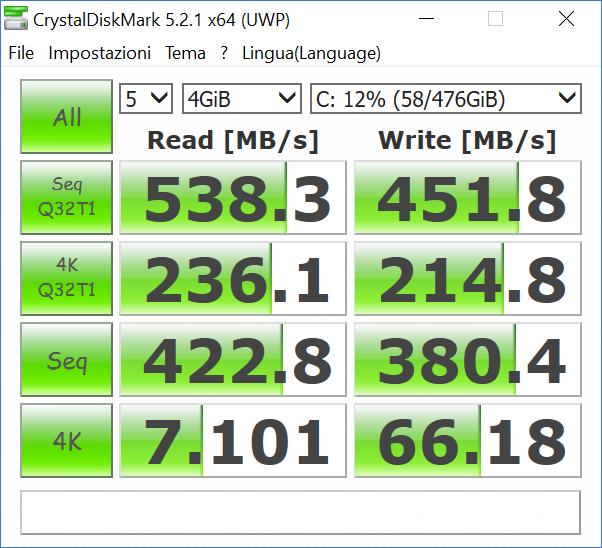 crystal4gb - Recensione Asus Zenbook Flip UX360UA