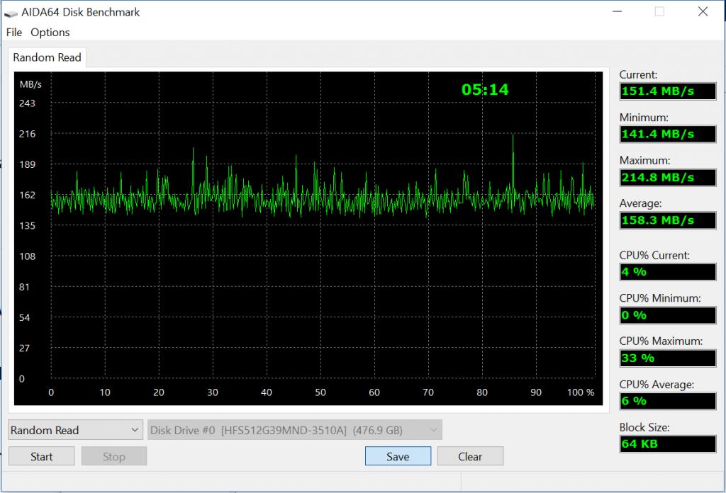 diskbench.random 1024x696 - Recensione Asus Zenbook Flip UX360UA