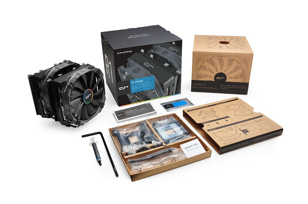 10 r1 ultimate full contents 1024 1024x680 - Recensione Cryorig R1 Ultimate