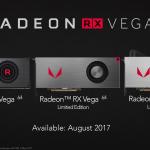 AMD Radeon RX Vega 64 Family 150x150 - AMD, svelati ufficialmente prezzi e specifiche delle nuove GPU RX Vega 56 e RX Vega 64