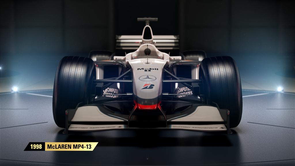 F1 2017 reveal 1998 McLaren MP4 13 1024x576 - Koch Media e Carrera Toys uniscono le forzeper il Film Overdrive e F1 2017