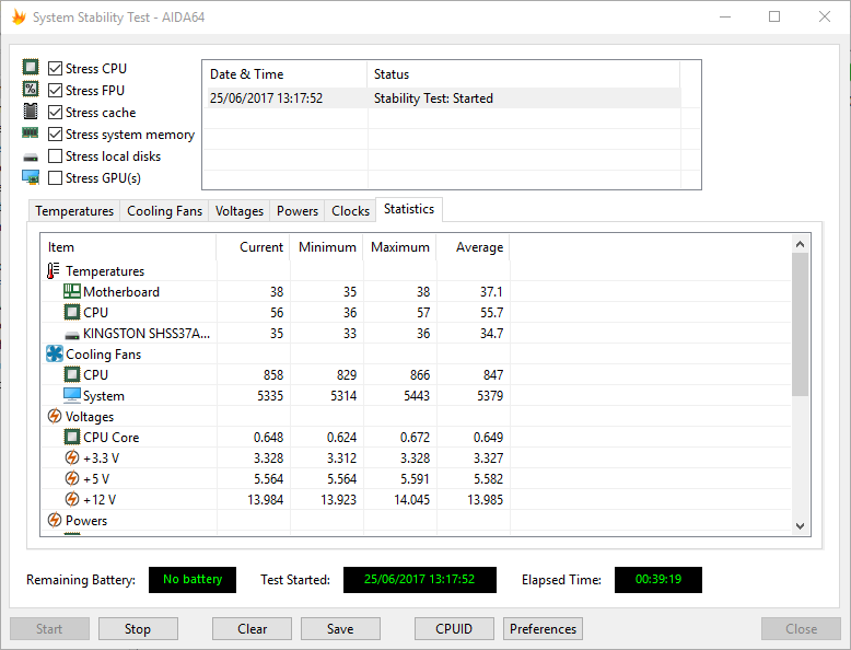 tempx39 2400 - AMD Ryzen - Recensione AMD Ryzen 7 1800X