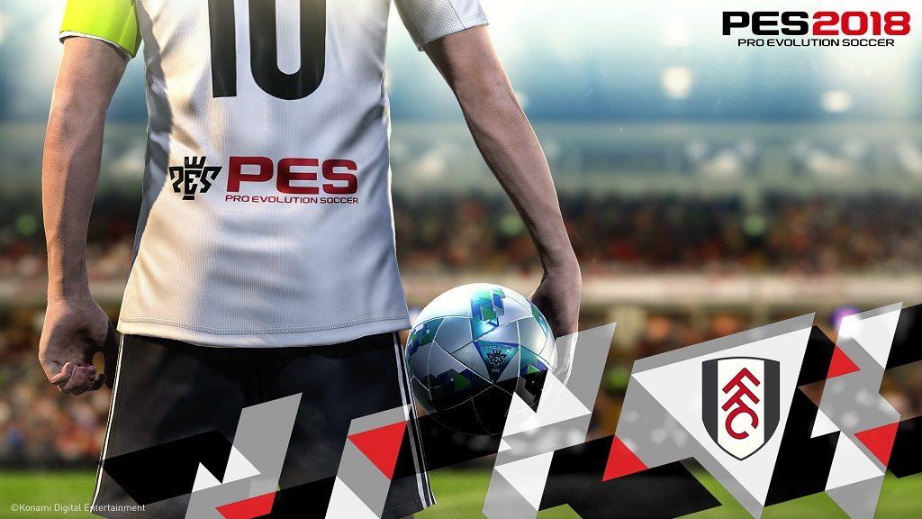 PES2018 Fulham FC Announcement Home 1024x576 - KONAMI sigla una partnership esclusiva con il Fulham FC e il Colo-Colo