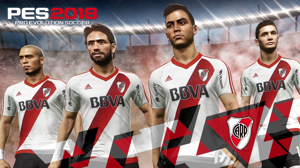 PES2018 RiverPlate 1024x576 - KONAMI stringe una partnership con la Federazione calcistica dell'Argentina