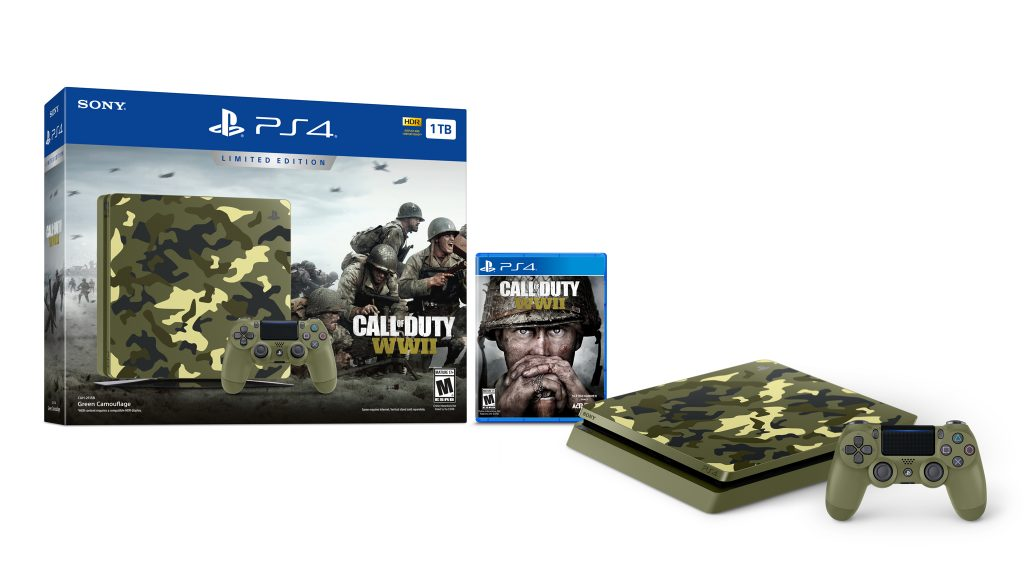 PS4CODWWII 1 1024x576 - Call of Duty: WWII, Bundle PS4 in edizione limitata