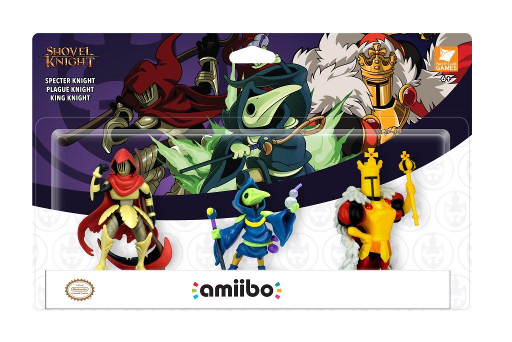 ShovelKnightamiibo 1024x684 - Yacht Club Games presenta tre nuovi Amiibo di Shovel Knight