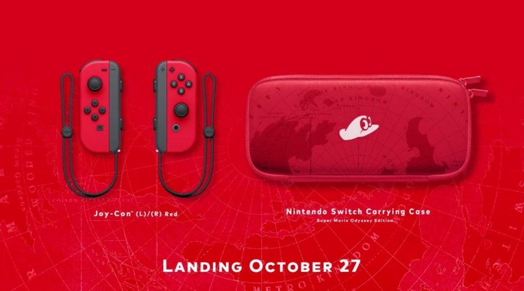 Super Mario Odyssey Case 1024x569 - Nintendo Switch, svelato un bundle dedicato a Super Mario Odyssey