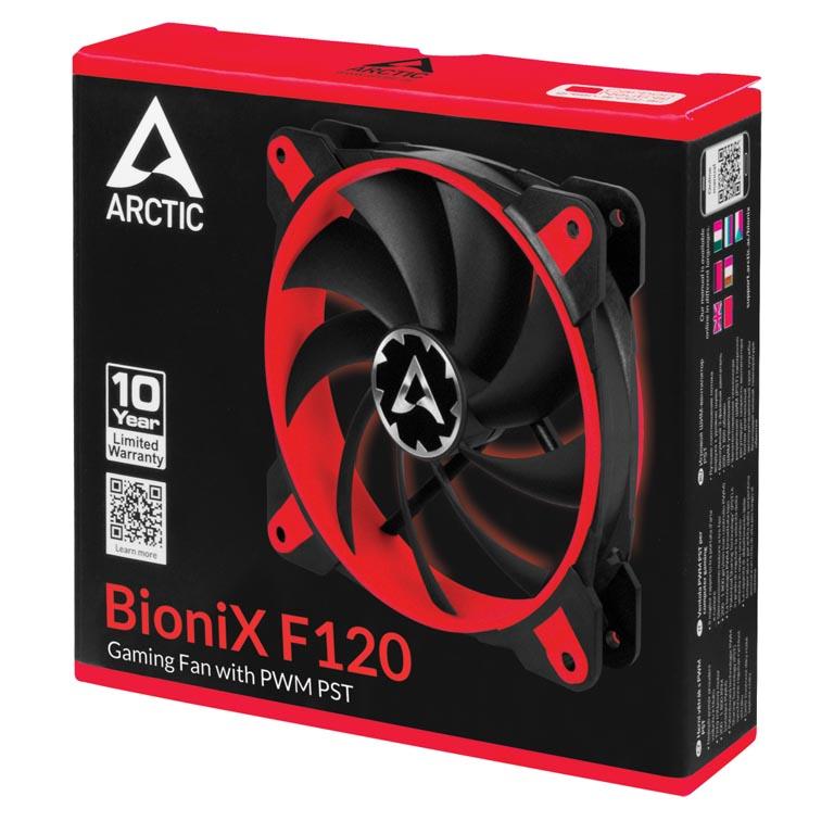 bionix f120 red g05 1 - Recensione Ventole Arctic BioniX F120