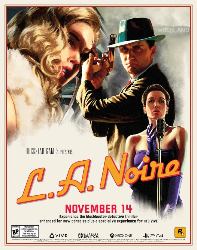 la noire 656x831 - L.A. Noire: Rockstar Games annuncia la remastered