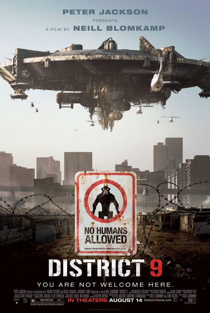 District 9 688x1024 - Wolfenstein II: tutti i film che hanno ispirato gli sviluppatori