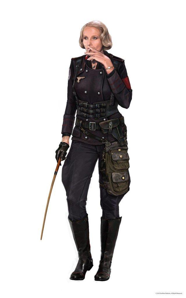 Frau Engel 01 640x1024 - Bethesda, pubblicata una nuova gallery di immagini per Wolfenstein II. The New Colossus