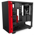 H400i Matte BlackRed Right45 OpenPanel 150x150 - NZXT presenta la nuova Serie H dei suoi case per PC